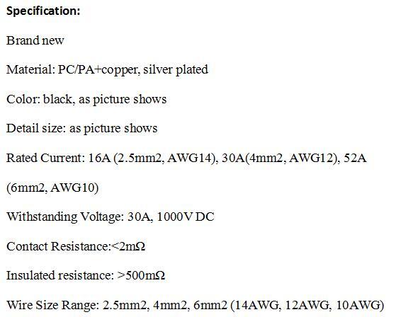 5 пар много MC 4 солнечный PV Кабельный разъем солнечной провода панели разъемы Степень защиты IP67