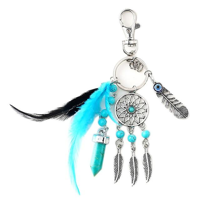 Tai Chi Dreamcatcher Keychain