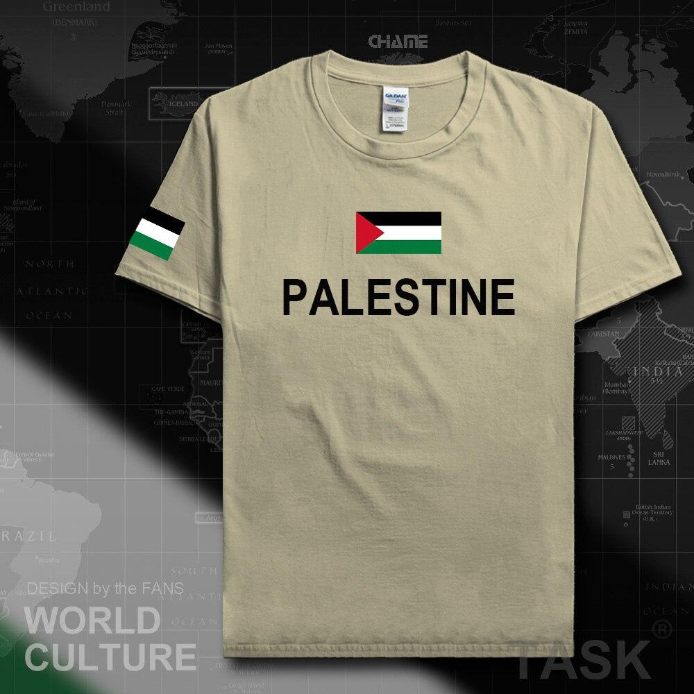 Design t shirt en ligne - L Tat De Palestine Palestinien T Shirt De Mode 2017 Jersey Nation Quipe 100