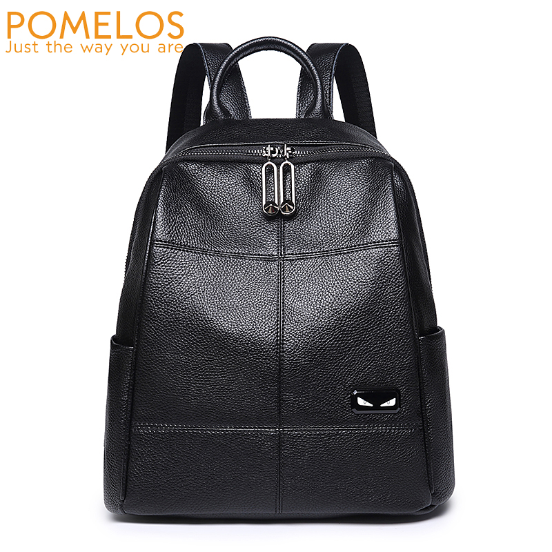 POMELOS Backpack Women 2018 Autumn New Arrival Women Backpack PU Leather Fashion Travel Backpack School Bags For Teenage Girls 2018 new fashion backpacks for teenage girls large capacity travel backpack women s pu leather backpack school bags casual women