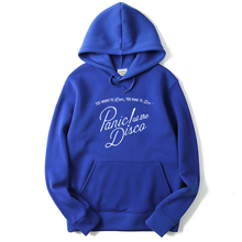 Panic At The Disco Too Weird To Live Too Rare To Die Hoodies Hunter S. Thompson Fear Loathing Hooy Sweatshirts Hooded Jumper