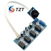 Four Channels Input Switching Board AC12V for Audio Power Amplifier DIY
