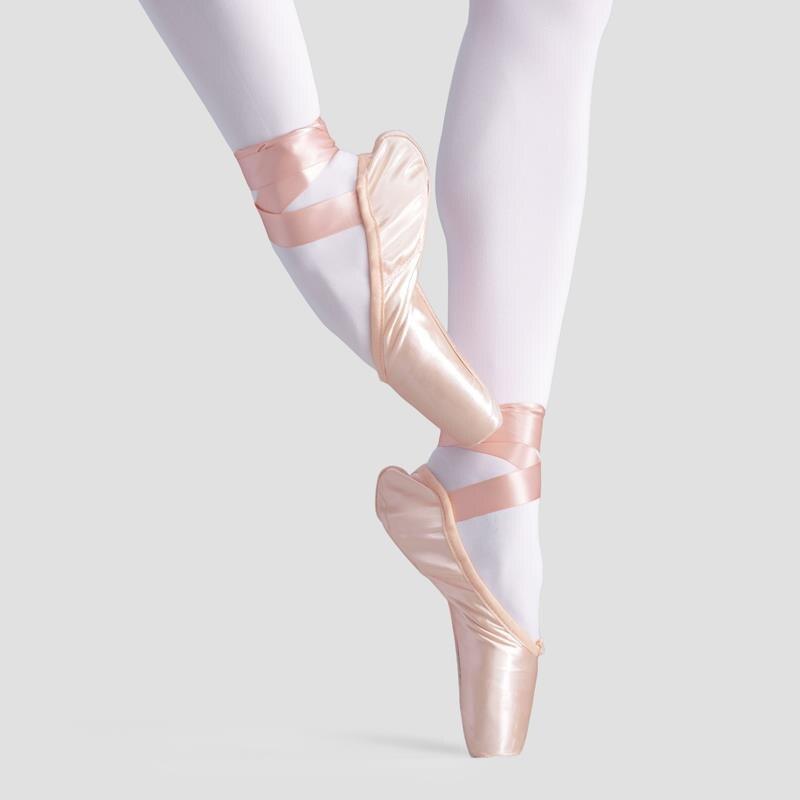 2018 Professional  Ballet  dance Satin Dance Ballet Pointe Shoes Childrens Girls Adult Women Ballet Shoes