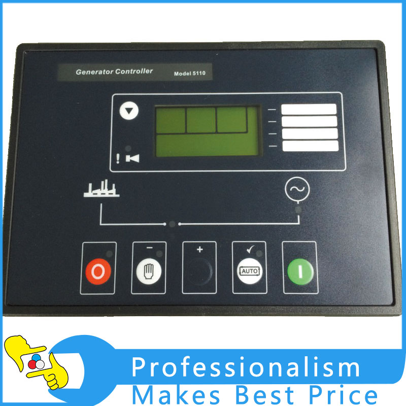 Deep Sea Generator Controller Module LCD Display DSE5110 Auto Start Control Module new dse8610 generator module auto start load share controller for deep sea