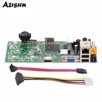 AZISHN CCTV NVR 16CH 1080P/4CH 5MP Onvif H.264 VGA HDMI Output Motion Detection Network Home Security Surveillance Camera System
