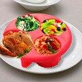 1 шт.  мера для еды  контроль порций  инструменты для приготовления пищи  для похудения  кухонный инструмент  экологически чистые тарелки  наб...