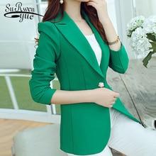 2019 winter office lady coat long sleeve slim formal jacket women coats solid bl