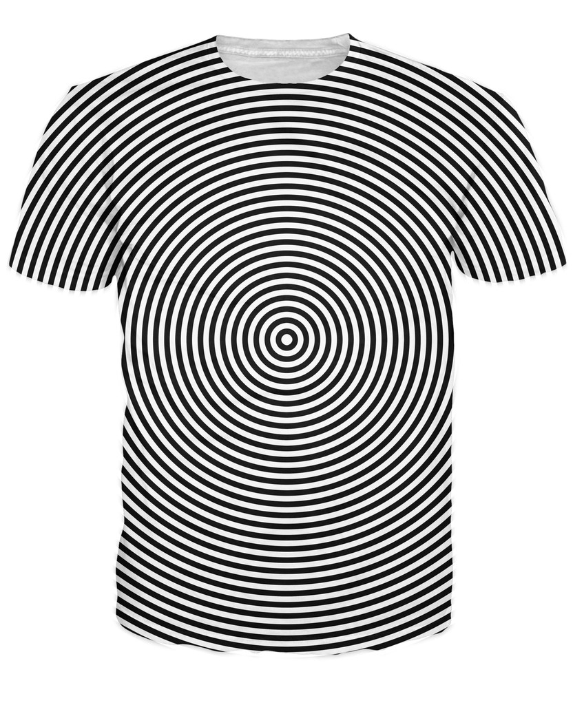 Tricou de hipnoză Femei Bărbați 3d Imbracaminte de moda Tei Topuri - Imbracaminte barbati