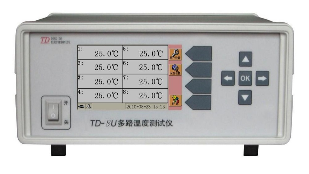 TD 32U 01 Multi Channel Temperature Meter Channel 32 with USB Interface thermocouple E,J,K,N,R,S,B,T.standard type K