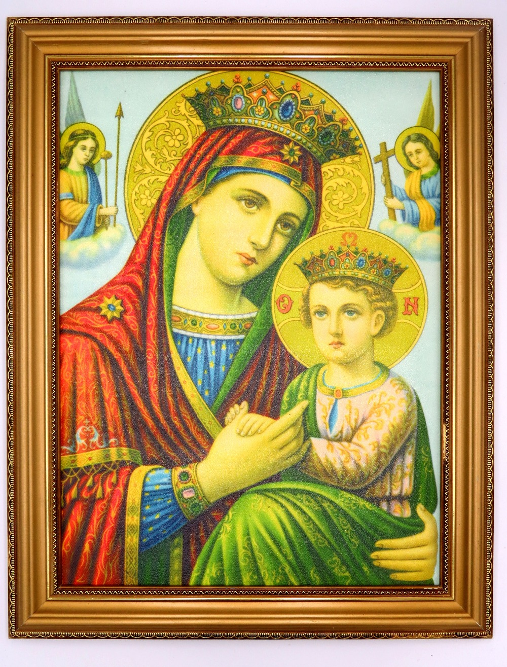 Painting Art Virgin Mary and Child Jesus Catholic Gift Wall Art for ...