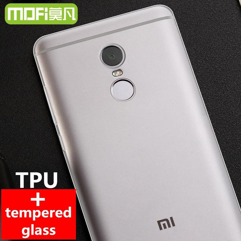 Xiaomi Redmi Note 4 Pro Case Silicon Cover MOFi For Xiomi Redmi Note 4 Case TPU