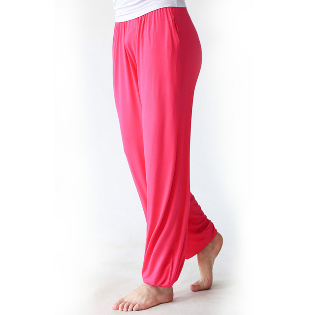 Pantalones de Yoga con la Cintura Elástica
