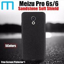 Meizu Pro 6S чехол оригинальный catman песчаника ремесло полный Чехол Ультра тонкий мягкий матовый Frosted Shield для Meizu Pro6 Pro 6S