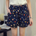 XL-5XL hip 112-136cm plus size Pantalones Cortos Mujer Women Shorts Womens Shorts D14