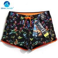 GAILANG Brand Woman Beachwear Board Shorts Boxer Trunks Active Bermudas Women Swimwear Swimsuits Quick Dry Short Bottoms Casual