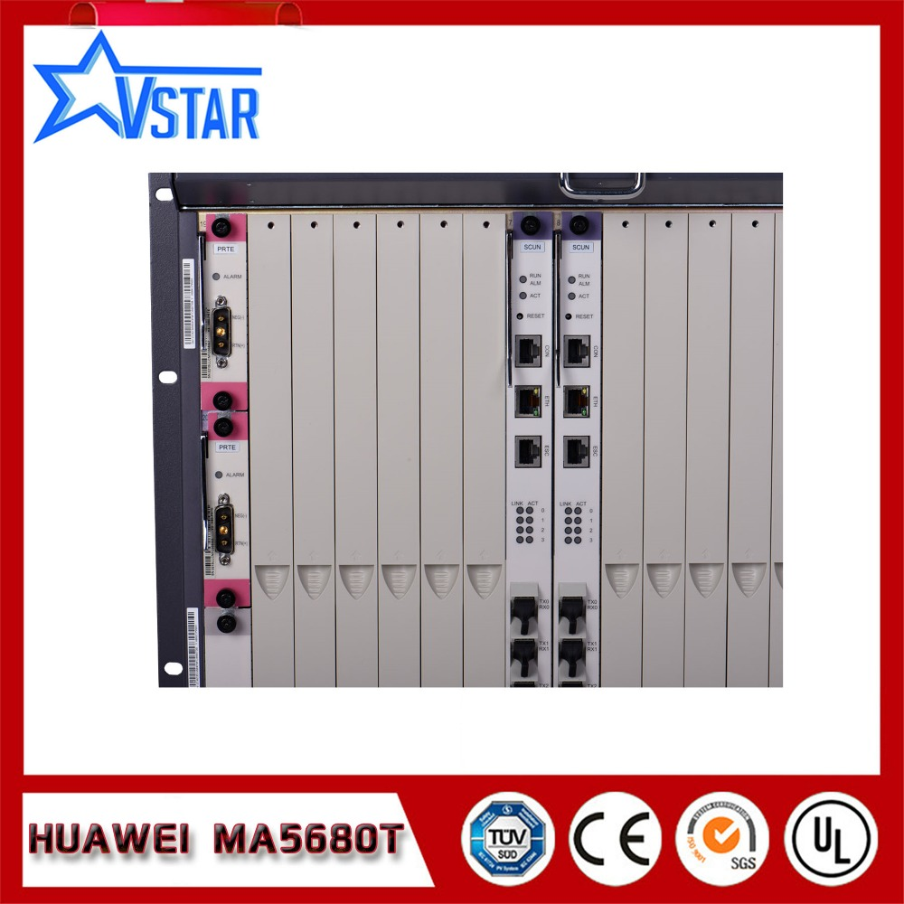 huawei ma5680t olt with chassis scun 2 gicf 2 prte 2