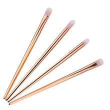 4pcs Pro Makeup Brushes Set Foundation Powder Eyeshadow Eyeliner Lip Brush Tool Blending Brush Set Tool Kit YAS