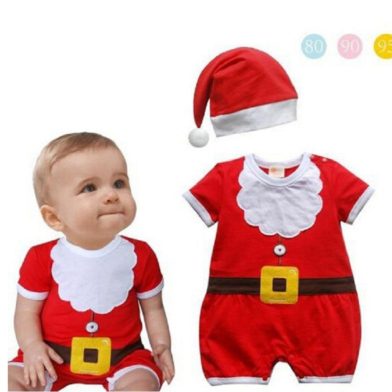 Baby christmas rompers newborn boy romper infant clothing new born baby christmas clothes bebe new year costumes for kids newborn baby rompers baby clothing 100% cotton infant jumpsuit ropa bebe long sleeve girl boys rompers costumes baby romper