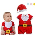 Baby christmas rompers newborn boy romper infant clothing new born baby christmas clothes bebe new year costumes for kids