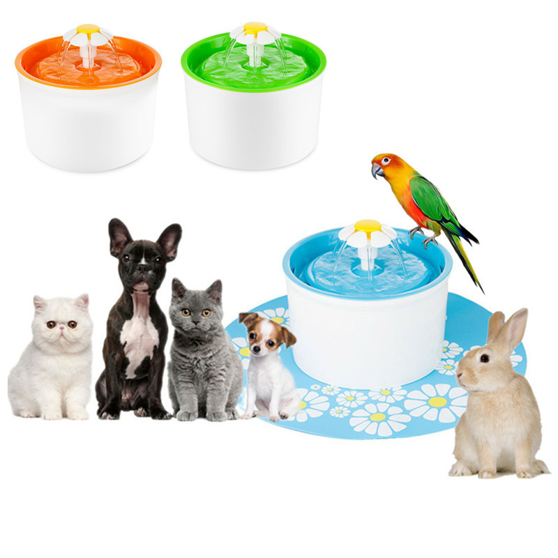 Automatic Cat Water Fountain Drinker Bowl Pet Water Dispenser Feeder Water Filter Drinking Fountain For Pet Cat Dog Bird Supply ...