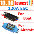ESC 120A  Flycolor Brushless  for RC boat Aircraft Accessories Free Shipping