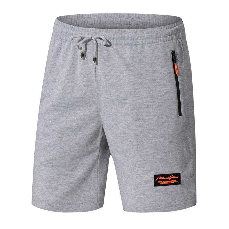 Мужские спортивные брюки для отдыха, 5, большие брюки, летние, 7 очков, брюки средней длины, свободные, сухое лето.