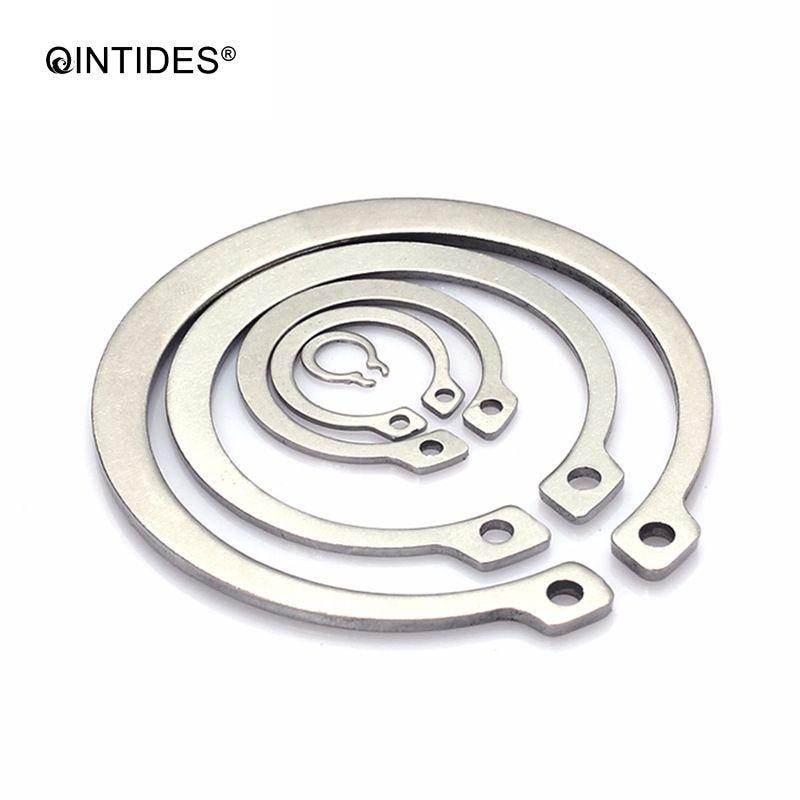 42.64руб. 26% СКИДКА|QINTIDES M105 M200 стопорные кольца для вала типа A стопорное кольцо с карточкой кольца из нержавеющей стали|circlip for shaft|stainless steel circlip|steel circlips - AliExpress
