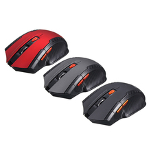 New Game Wireless Mice with USB Receiver Mini 2.4GHz Wireless Optical Mouse Gamer for PC Gaming Laptops