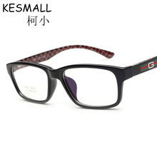 Fashion Optical Glasses Frame Women Men Light Eyeglasses Frames Black Color Student Myopia Glasses Frames Oculos De Grau YJ557