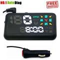 """Envío libre 5.2 """"X200 Coche Universal GPS Head Up Display HUD KM/h MPH Parabrisas de Alarma de Exceso de velocidad Del Proyecto vehículo Velocímetro"""