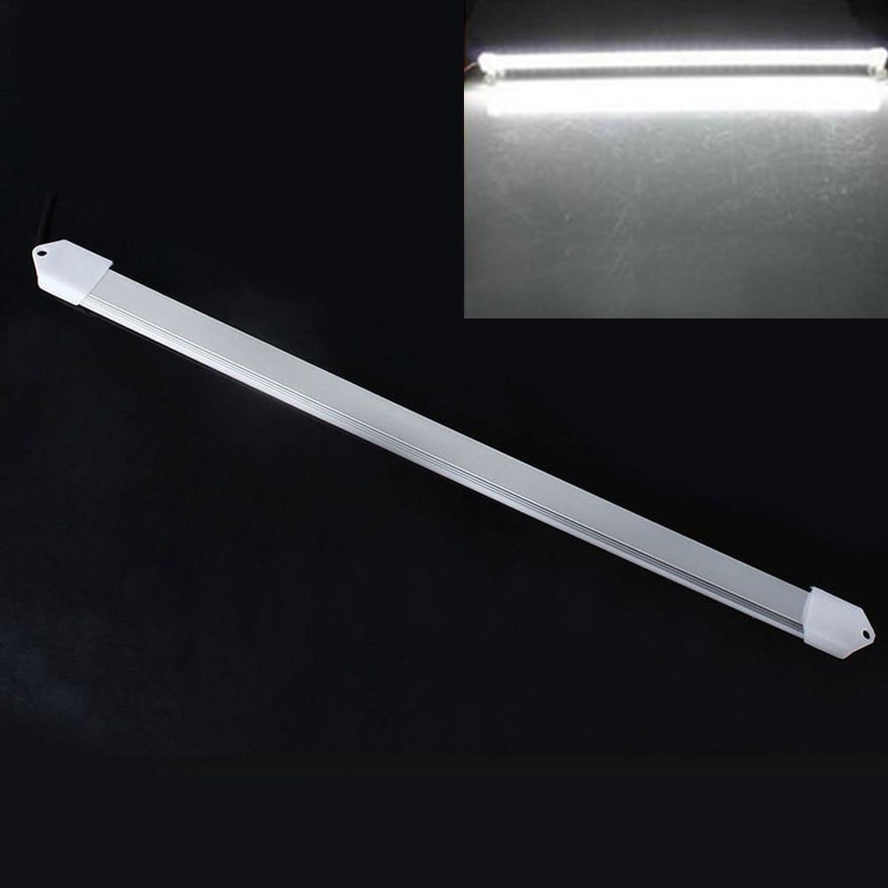 1 Pc 50 Cm Großhandel Dc 12 V Smd 5630 FÜhrte Harte Starren Streifen Bar Licht Legierung Shell + Pc Abdeckung Led Bar Licht