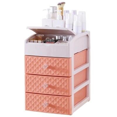 Drawer - type cosmetics storage box desktop storage consolidation Dresser cosmetics boxes