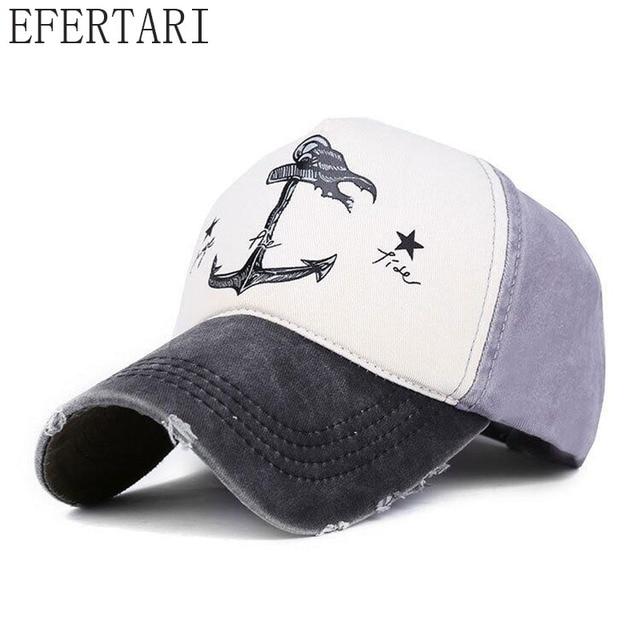 EFERTARI  primavera otoño parejas sombrero Hombre Mujer gorras de béisbol  de algodón puro hacer 1e12edb0ccd