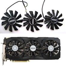 Kostenloser Versand 87mm PLD09210S12HH 0.4A Fan Für MSI GeForce GTX 1070 1060 1080 1080Ti 980Ti Duke Video Grafikkarte kühler Fans