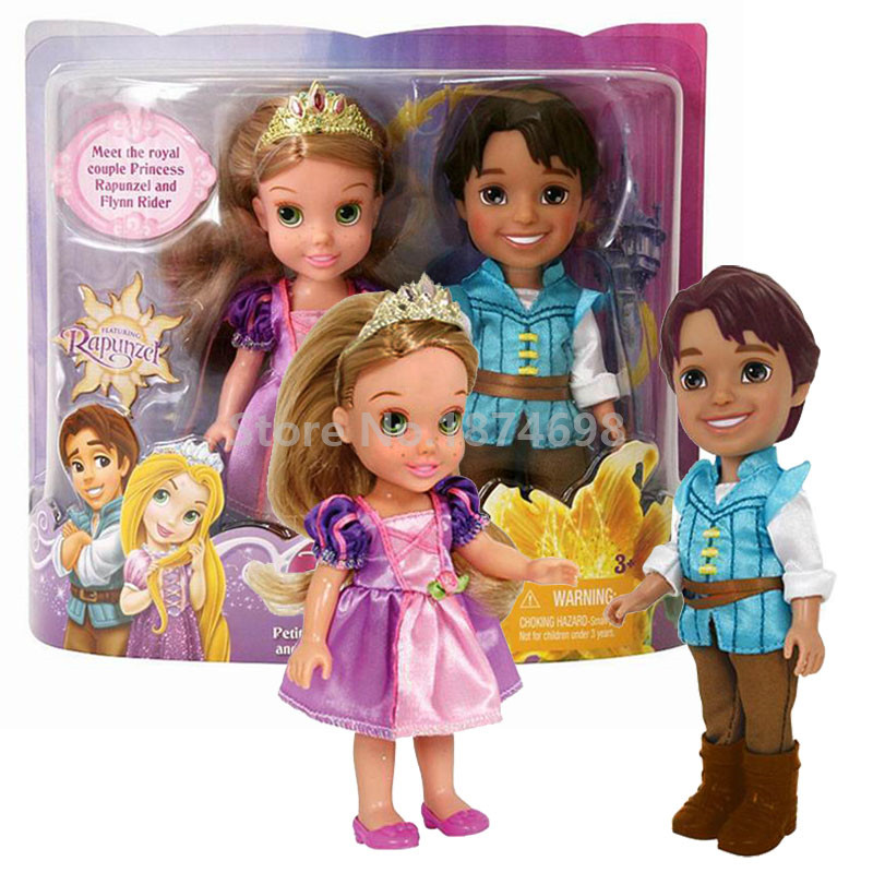 New Tangled Baby Rapunzel And Prince Flynn Rider Gift Set Doll Figure Toys Dolls For Girls Children Gifts Buy At The Price Of 37 50 In Aliexpress Com Imall Com