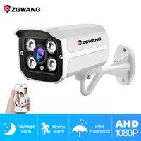 ZGWANG 1080P AHD Camera CCTV Analog Camera Surveillance CCTV AHD Camera HD Indoor PAL NTSC H.264 Night Vision IR Cut Camera