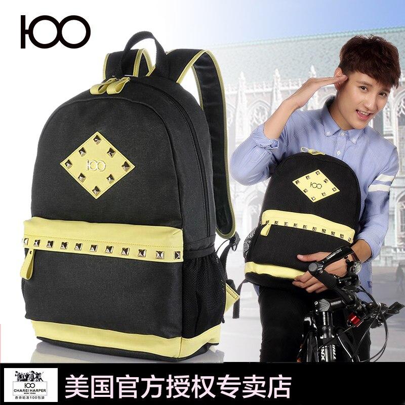 100 new 2016 rcanvas shoulder bag travel bag fashion backpack