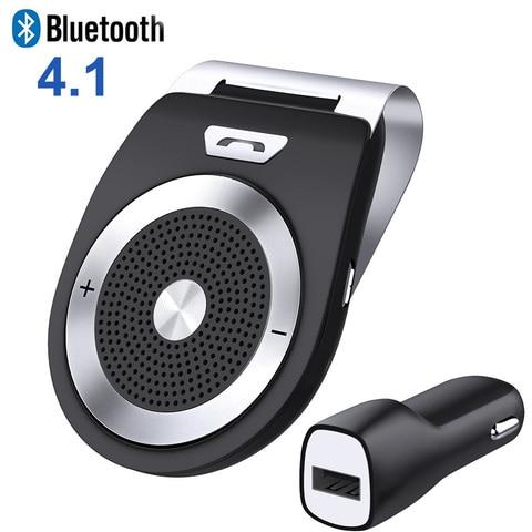 bluetooth car kit maos livres com cancelamento de ruido bluetooth v4 1 receptor car speakerphone