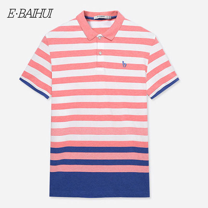 2019 Summer 100% Mesh Import Pique Cotton Big Horse Men 3 Embroidery Logo Polo Shirts Fashion Brand Polo Shirts 8026 Always Buy Good Men's Clothing Polo