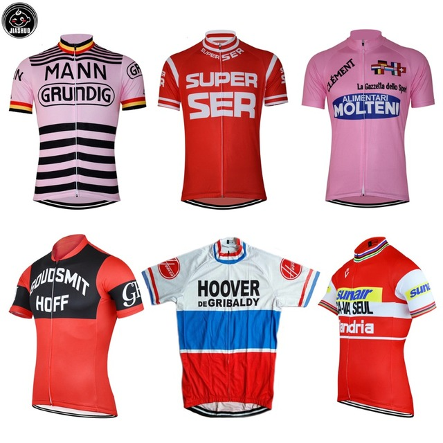 4892b85d4 Retro Classical NEW ROAD MOUNTAIN RACE Bike pro Team Cycling Jersey  Breathable Customized JIASHUO Choose Your Like