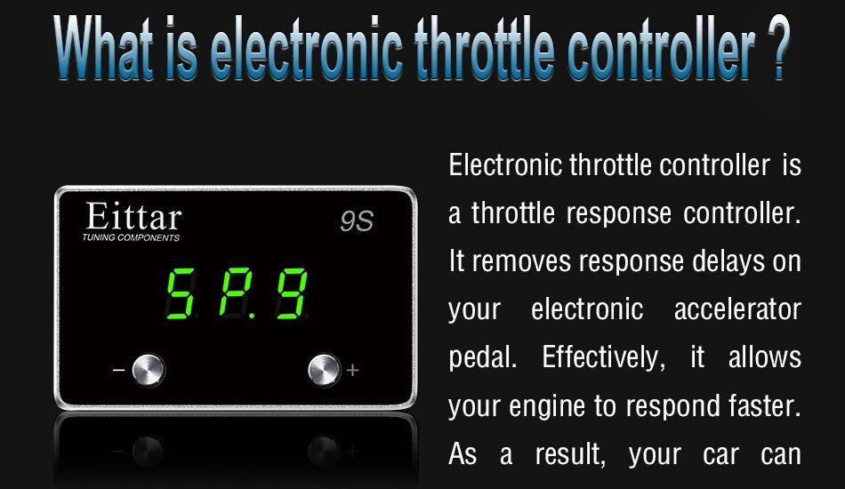 Controlador do Acelerador eletrônico do carro