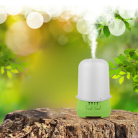 Ultrasonic Aromatherapy Oil Diffuser 120ML With 7 LED Lamp Cool Mist Humidifier Top Hat Shape For