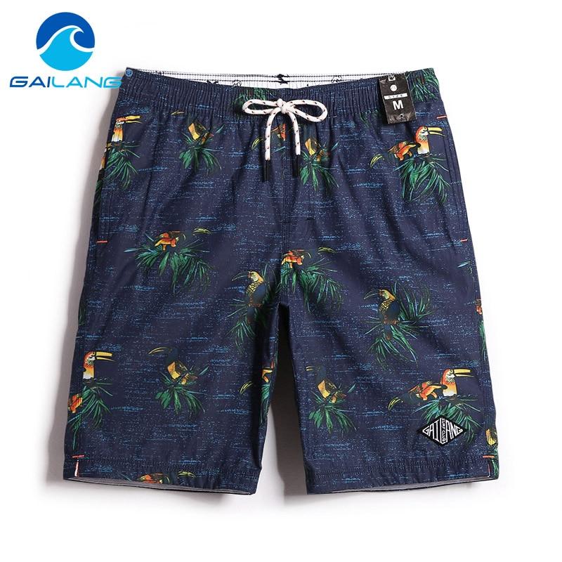 Gailang Brand Men New   Shorts   Beach Quick Drying Mens Swimwear Swimsuits   Board     Shorts   Trunks Casual Men's Boardshorts Plus Size
