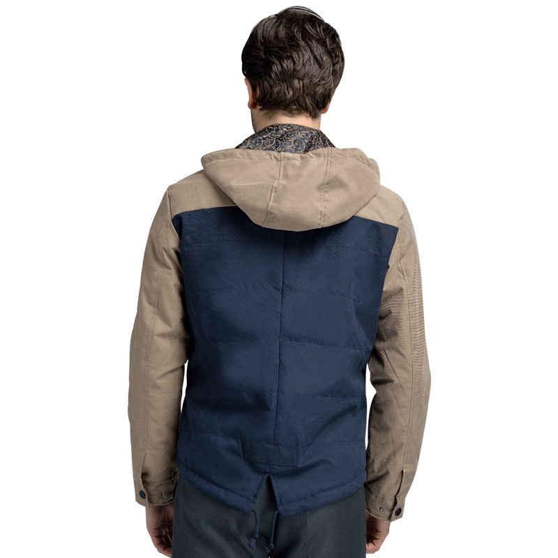 2017 ฤดูใบไม้ผลิใหม่ Windproof เสื้อผู้ชายและเสื้อ Veste Homme Parka ผู้ชายคุณภาพสูง Patchwork Soft Mens แจ็คเก็ตยี่ห้อผู้ชาย