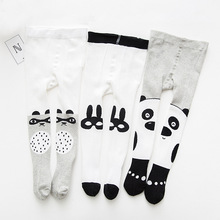 Baby Girls Tights Newborn Pantyhose for Boys Knit Kid Cotton tight Childrens Stockings Solid cloth
