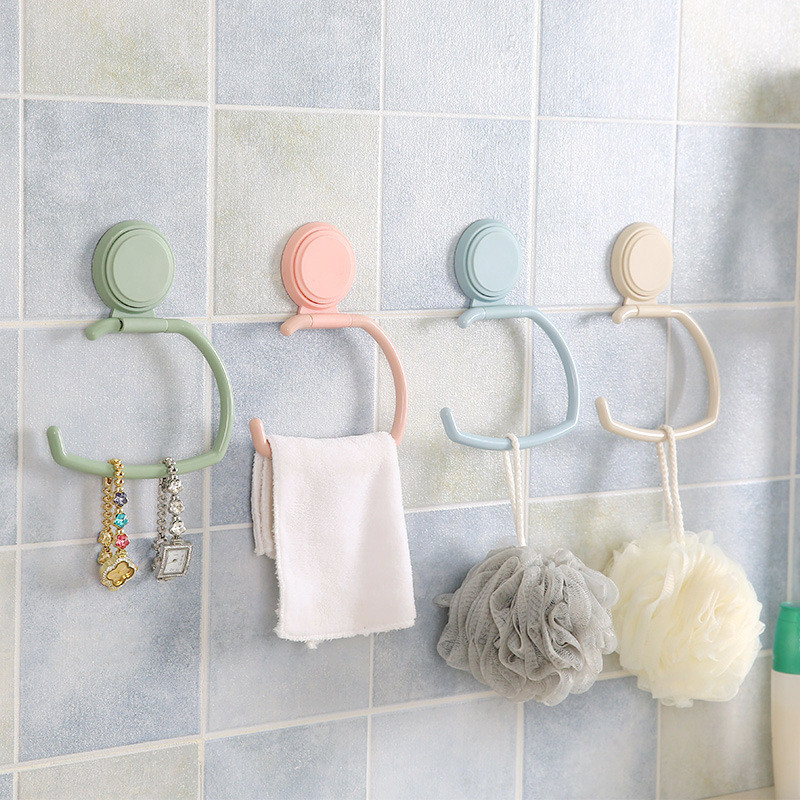2018 latest hot towel rack hanger storage bag bathroom kitchen cabinet cabinet hanger paper towel rack storage accessories *D