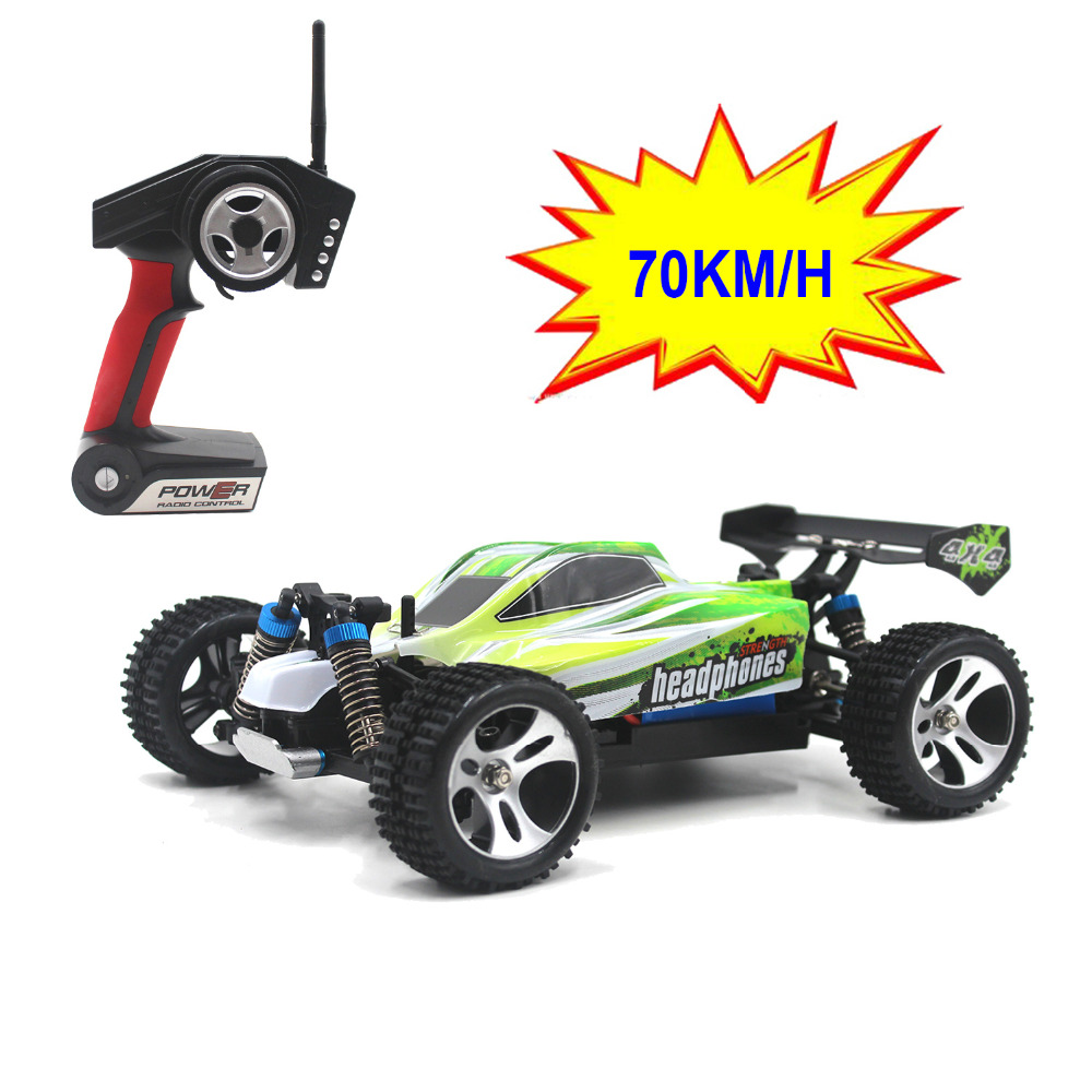 70KM / H Nyankomst 1:18 4WD RC Bil JJRC A959 Opdateret Version A959-B 2.4G Radio Control Truck RC Buggy Highspeed Off-Road A979