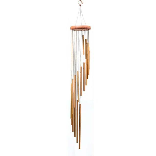 Metal Wind Chime Outdoor Living Wind Chimes Yard Garden 18 Tubes Bells  Copper Home Yard Home