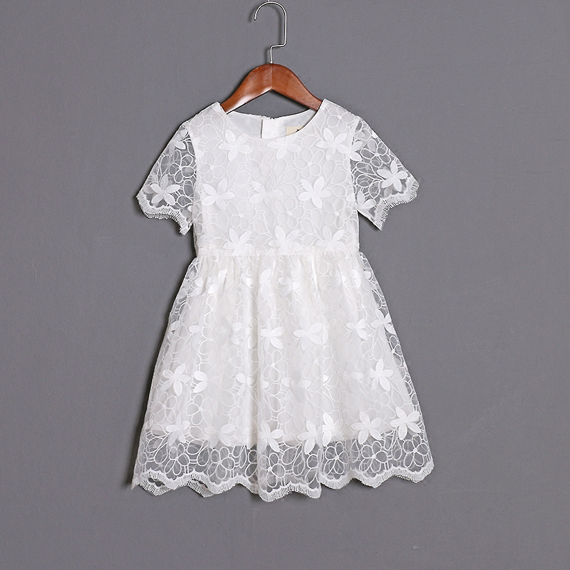 Summer mother daughter clothing family look children embroidery organza dress kids mom and baby girl matching formal party dress brand summer mom princess girl kids dress infantile children baby girls lady woman women mother and daughter matching dress 811