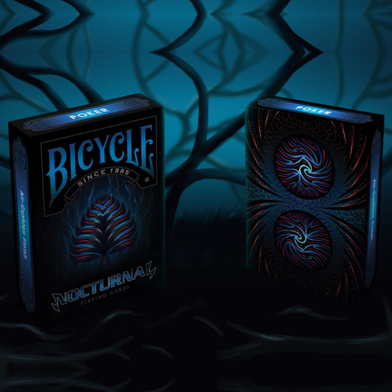 Bicycle Nocturnal Playing Cards Bicycle Deck Poker Size USPCC Limited Edition Deck New Sealed Magic Props Magia Tricks Free Ship